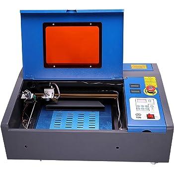 2 en 1】CNC DIY 3018 Pro Max GRBL Control DIY Mini Machine, Fresadora de PCB de 3 ejes, Enrutador de madera Grabador con controlador fuera de línea Área de trabajo (7W): Amazon.es: