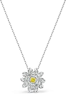 Swarovski Pendente Eternal Flower, giallo, mix di placcature