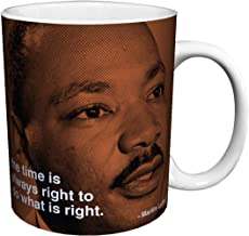 Martin Luther King Quote iPhilosophy Civil Rights Activist Icon Celebrity Ceramic Gift Coffee (Tea, Cocoa) 11 Oz. Mug