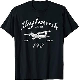 172 Skyhawk Airplane Classic Vintage Aviation Private PIlot T-Shirt