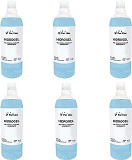 Pack de 6 Botellas de 1L gel hidroalcohólico higienizante