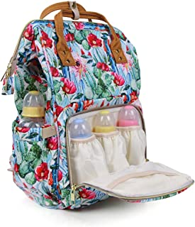 Diaper Bag Backpack Large Capacity Waterproof Mommy Nappy Bag for Women