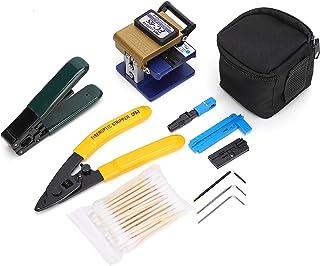 FTTH Fiber Optic Tool Kit With FC-6S Fiber Cleaver and Fiber Optical Stripper