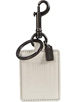 코치 스토리 패치 키링 COACH Story Patch Key Fob,Bone/Midnight