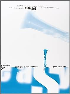 Easy Jazz Conception -- Clarinet: 15 Solo Etudes for Jazz Phrasing, Interpretation, and Improvisation (English/German Language Edition) (Book & CD)