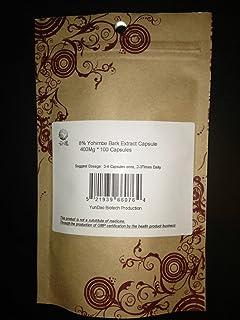YunDao 8% yohimbine Yohimbe Extract/corynine 400Mg x 100 Capsules for Men's Health