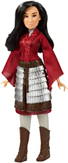 Disney Mulan Fashion Doll with Skirt Armor, Shoes, Pants, and Top, Inspired by Disney's Mulan Movie, Toy for Kids and Collectors