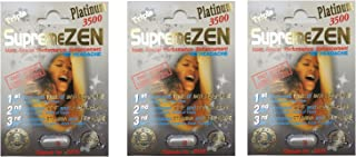 Supreme Zen Platinum 3500mg Male Sexual Performance Enhancement 100% Authentic (3)