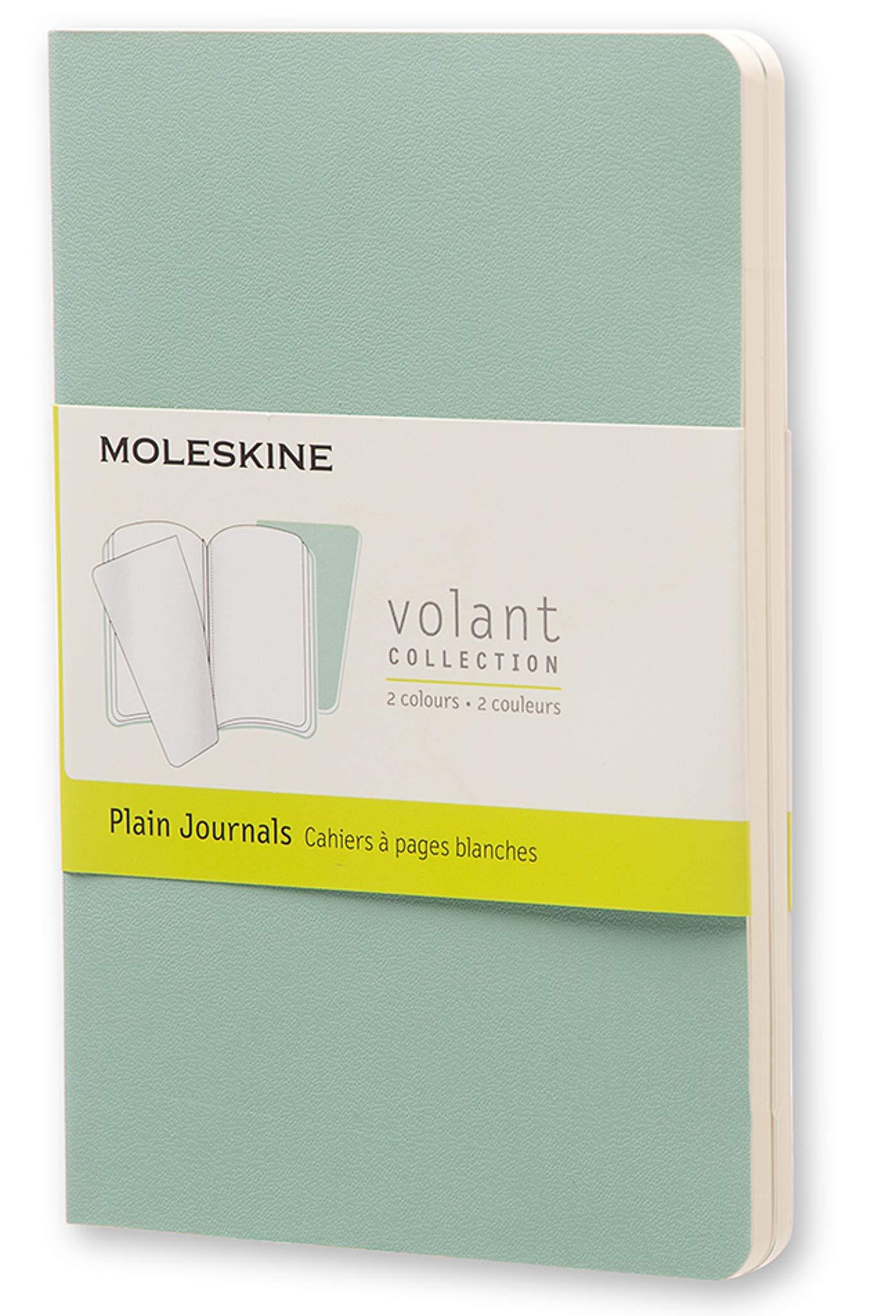 Moleskine QP713K8K11 - Cuaderno liso, pocket 9 x 14, color verde ...