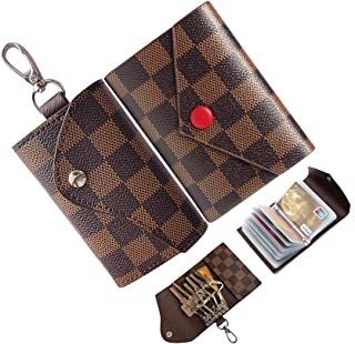 Best leather keychain card holder Reviews