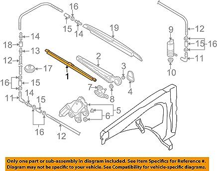 Volkswagen 7L6 955 425, Windshield Wiper Blade