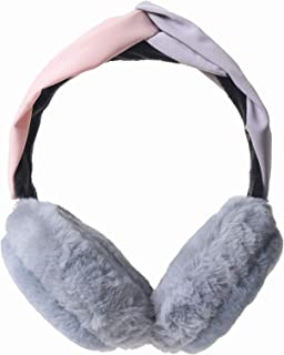Ypser Women's Faux Fur Ear Warmers Foldable Ear Muffs Headbands Winter Outdoor Ear Muffs Soft Ear Covers