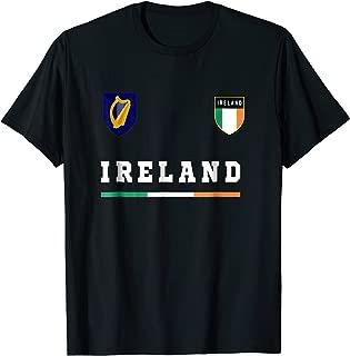 Ireland T-shirt Sport/Soccer Jersey Tee Flag Football Dublin