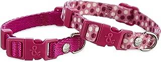 Bond & Co. Pink Adjustable Collar 2 Pack