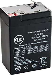 AJC Replacement Battery for Yuntong YT-645 Sealed Lead Acid, AGM, Valve-Regulated Lead–Acid Batteries