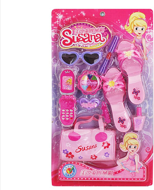 Fashion Beauty Set Pretend Play Toy Makeup Kit for Kids