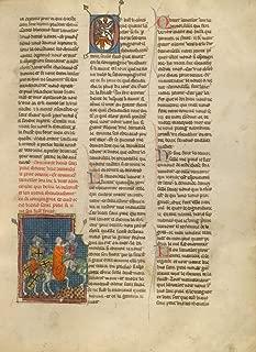Manuscripts Poster - Lancelot Rescuing a Demoiselle from Brehus sans Piti?, 24