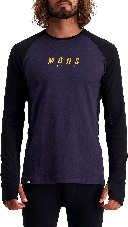 Mons Royale Mens Olympus 3.0 Long Sleeve Merino Long Sleeve