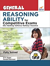 General Reasoning Ability for Competitive Exams - SSC/Banking/Defence/Railway/Insurance
