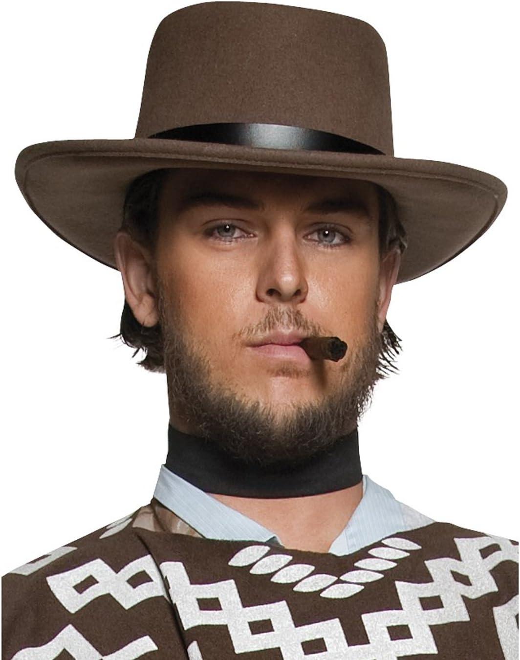 Chapeau sh/ériff de louest Marron Homme Generique