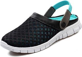 af10f21ece40 SAGUARO Mesh Water Shoes Women Men Aqua Sneakers Walk On Beach  Outdoor(Adult