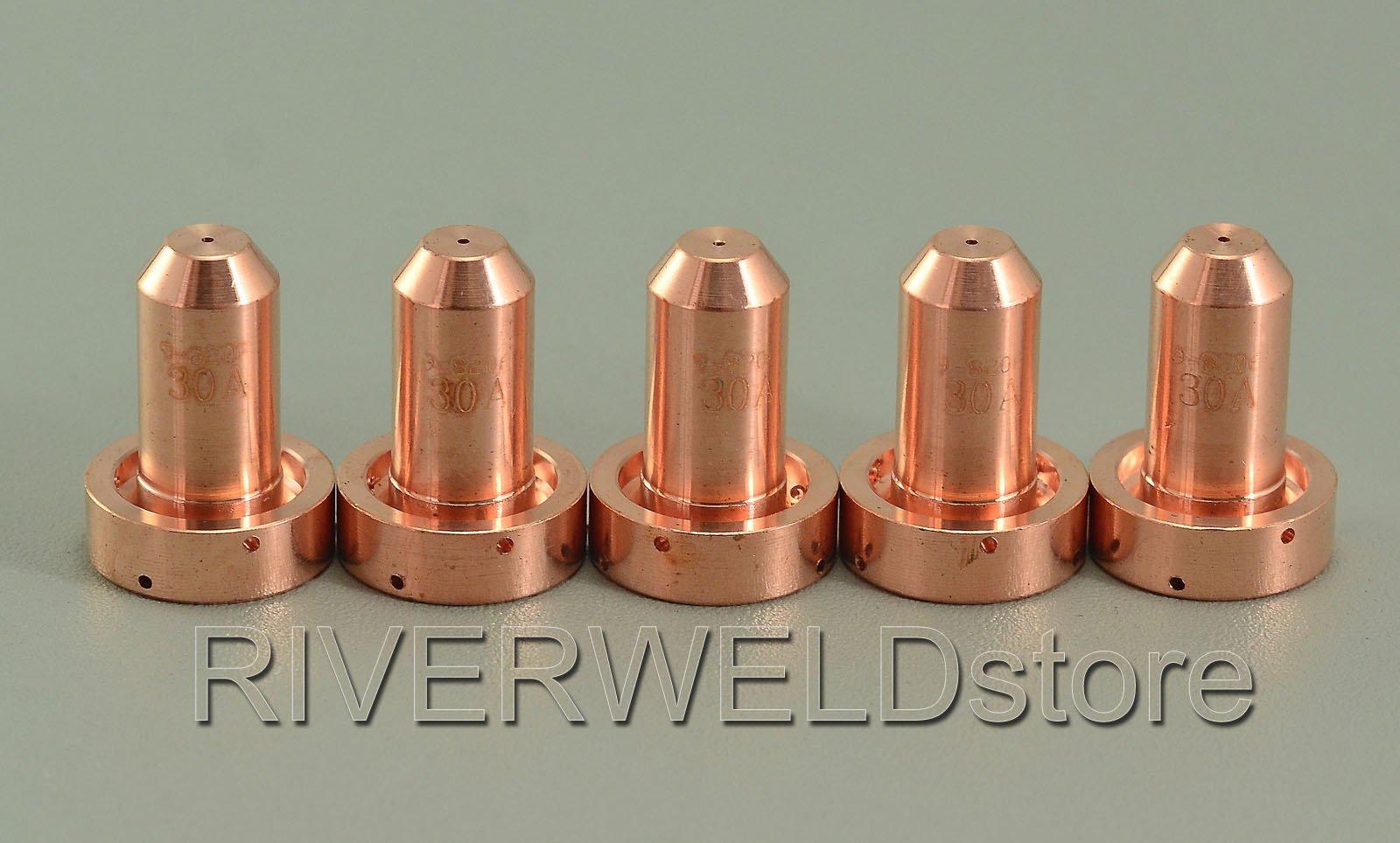 9-8206 Plasma Tip 30Amp Drag OTD Fit Thermal Dynamics SL60 SL100 5pk