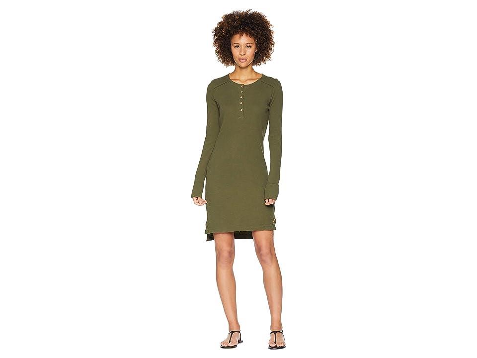 tentree Azolla Dress (Olive Night) Women