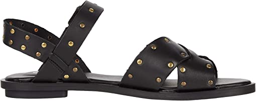 Black Studded Leather