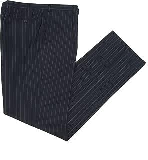 Pal Zileri Chalk Stripe Pleat Front Dress Pants 3110N