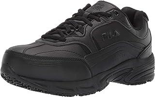 حذاء عمل رجالي من Fila Memory Workshift مقاوم للانزلاق من الصلب المقاوم للانزلاق