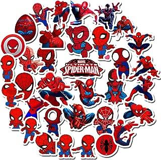 Tick Spider-Man Stickers for Kids,Superhero Stickers for Water Bottle Hydro Flask MacBook Car Bike Bumper Skateboard Luggage