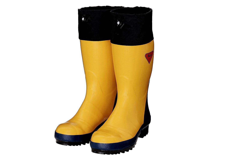 シバタ工業 セーフティベアー 500 安全長靴 イエロー 25.0cm AB071