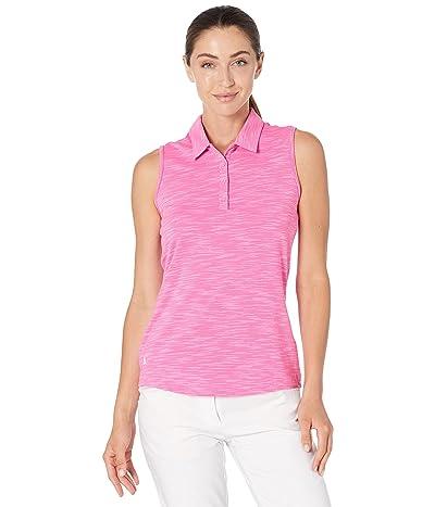 adidas Golf Spacedye Primegreen Short Sleeve Polo Shirt