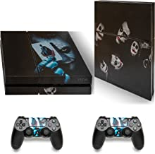 Gizmoz n Gadgetz PS4 Playstation 4 Batman Joker Skull Skin Sticker Decal Console 2 x Controller