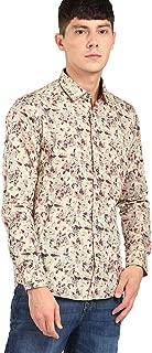 Studio NYX By fbb Men's Printed Slim fit Dress Shirt