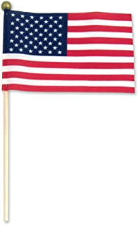 Online Stores 4x6 Stick Flag Standard Ball Tip- 12 PK Made in USA