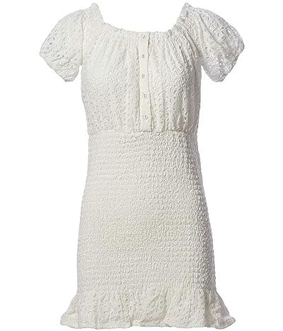 ASTR the Label Off-the-shoulder Elbow Length Sleeve Desi Mii Dress