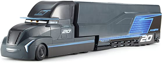 Cars Supertransformación Jackson Storm, coches de juguete (Mattel FCW000) , color/modelo surtido