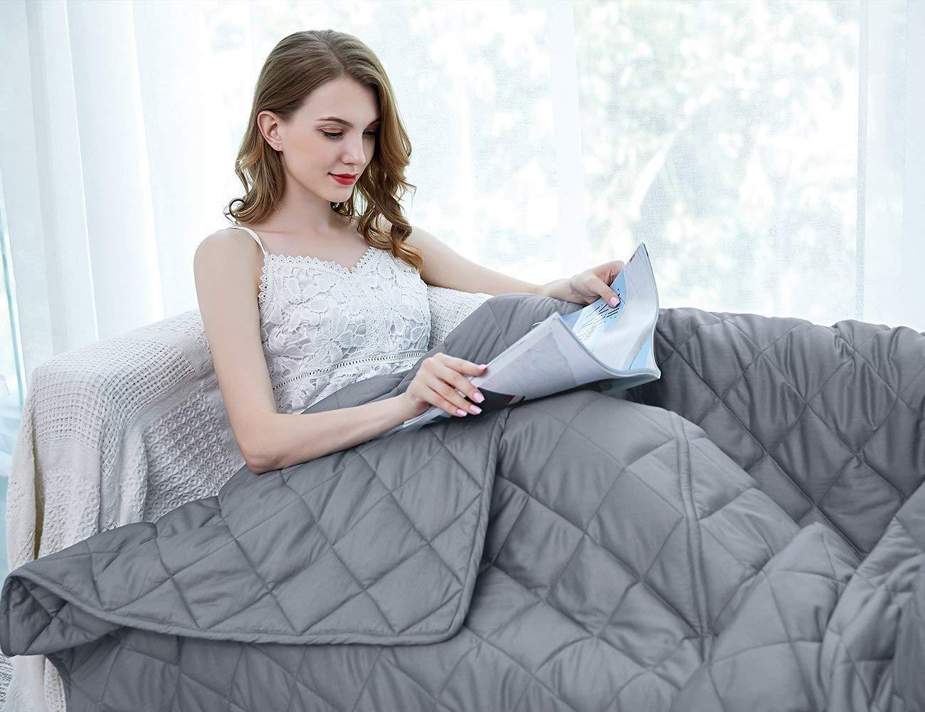 ZZZhen Weighted Blanket Consturction Year round