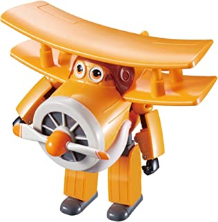 Alpha Animation & Toys- Transfoming Super Wings YW710260 Transforming Grand Albert Plane, Multicolor