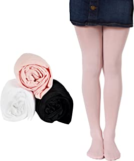 Girls Tights Knitted Cute Cartoon Warm Cotton Embroidery Leggings 3 Pcs Set Stocking 1-11TYears