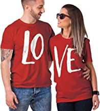 HAASE UNLIMITED Matching Couple Love - LO VE - Valentine T-Shirt