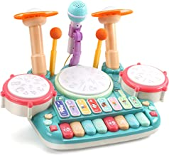 CUTE STONE 5 in 1 Musical Instruments Toys,Kids Electronic P