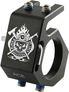 firefighter flashlight helmet mounts