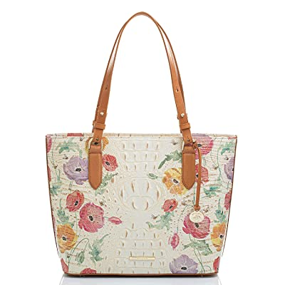 Brahmin Medium Misha Papaver Tote (Multi) Handbags