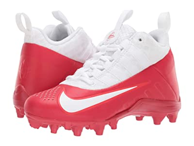 Nike Kids Alpha Huarache 6 Lacrosse (Little Kid/Big Kid) (University Red/White/Light Crimson) Kids Shoes