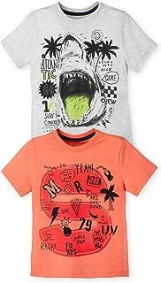 OFFCORSS Boy Fun Colored T-Shirts for Kids Camisetas Frescas Franelas para Niños