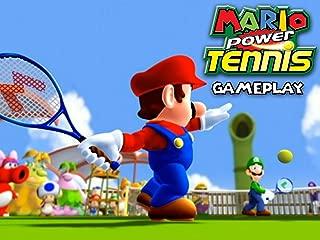 Mario Power Tennis Gameplay