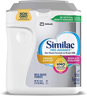 Similac Pro-Advance Non-GMO with 2-FL HMO Infant Formula with Iron for Immune Support, Baby Formula 34.0-oz Can
