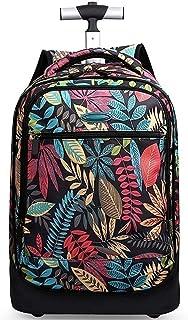 KJRJLG Lightweight Wheeled Rolling Backpack School Bag Laptop Travel Luggage for Students Kids (Color : B)